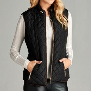 🌸Quilted Padding Vest